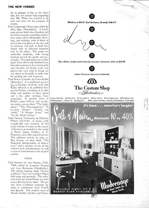 New Yorker 1950's