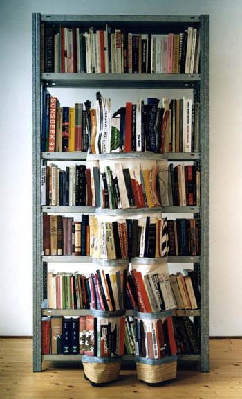 Bookcase by Desiree Palmen: http://www.desireepalmen.com