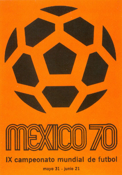 1970 World Cup Poster, Mexico