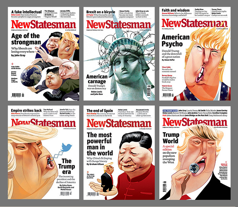 new statesman covers