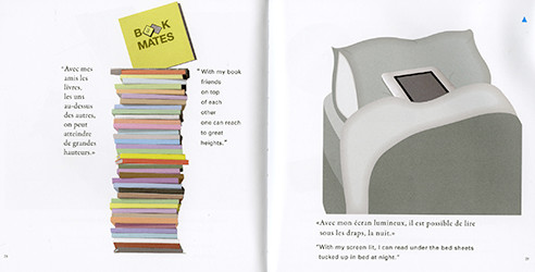 Book Mates: Beautiful Story of Friendship Between a Paper Book and a Digital Book