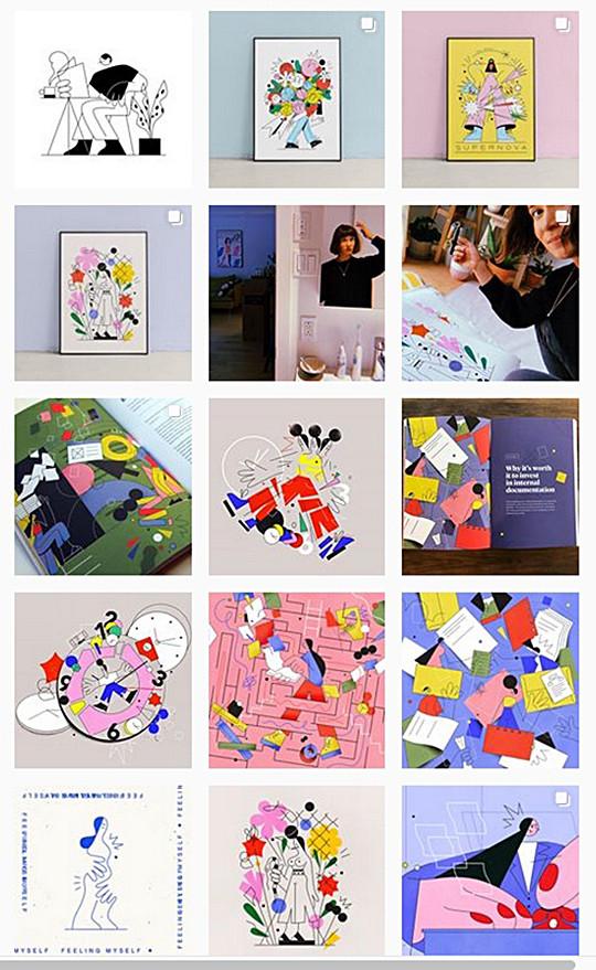 Some Justyna Stasik art work