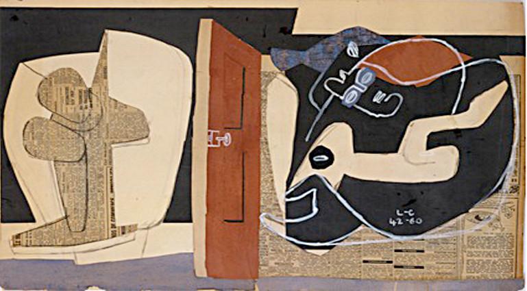 """Thèmes Ubu Parurge et Alma Rio,""1960"