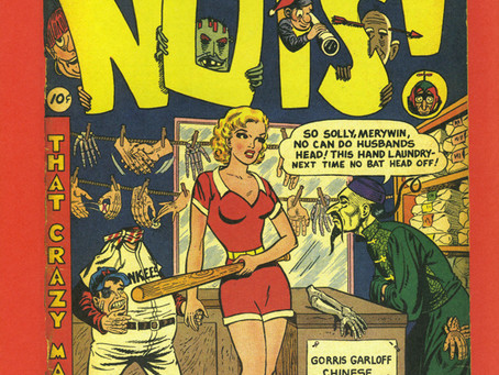 A Wild Madhouse Riot of 1950s Comic Book Satire