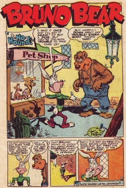 Early funny animal comics .