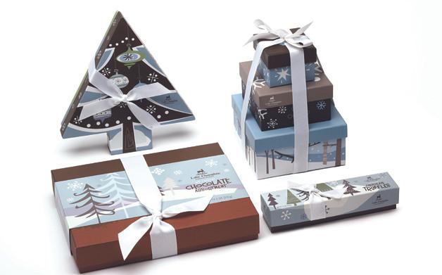 Carol Grabowski-Davis, Lake Champlain Chocolates Holiday