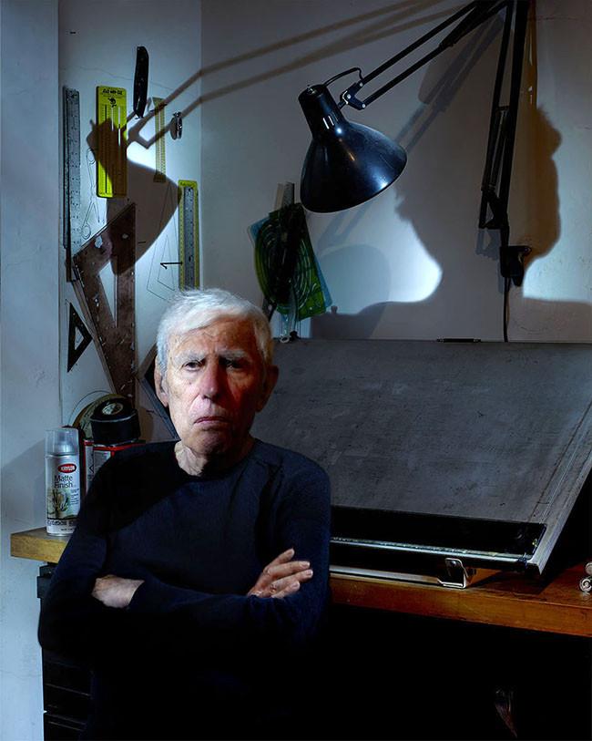 Bob Gill, designer, author, educator.