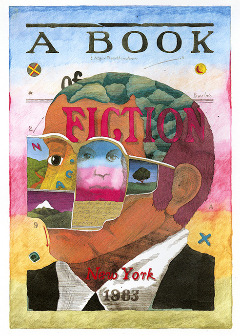 """A Book of Fiction,"" cover"