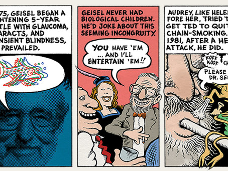 Two New Cartoon Histories on 100 Old Comics Innovators