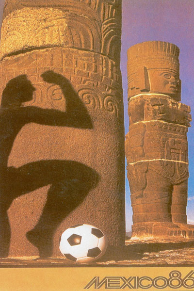 1986 World Cup Poster, Mexico