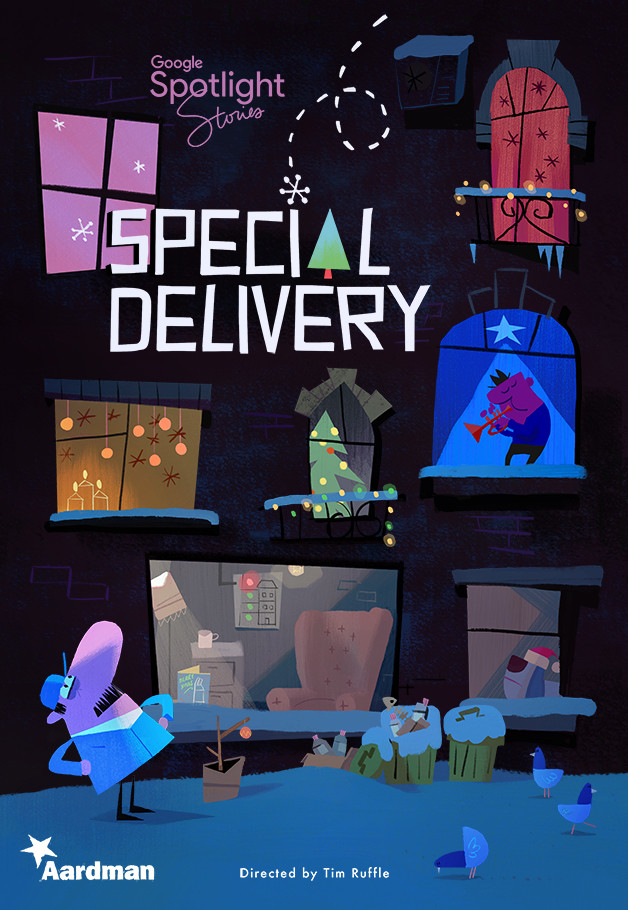 Special Delivery, an interactive short film direction by Tim Ruffle of Aardman Animations