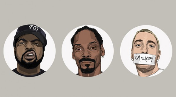 hip-hop-heads-cube-snoop-eminem-illustration-design