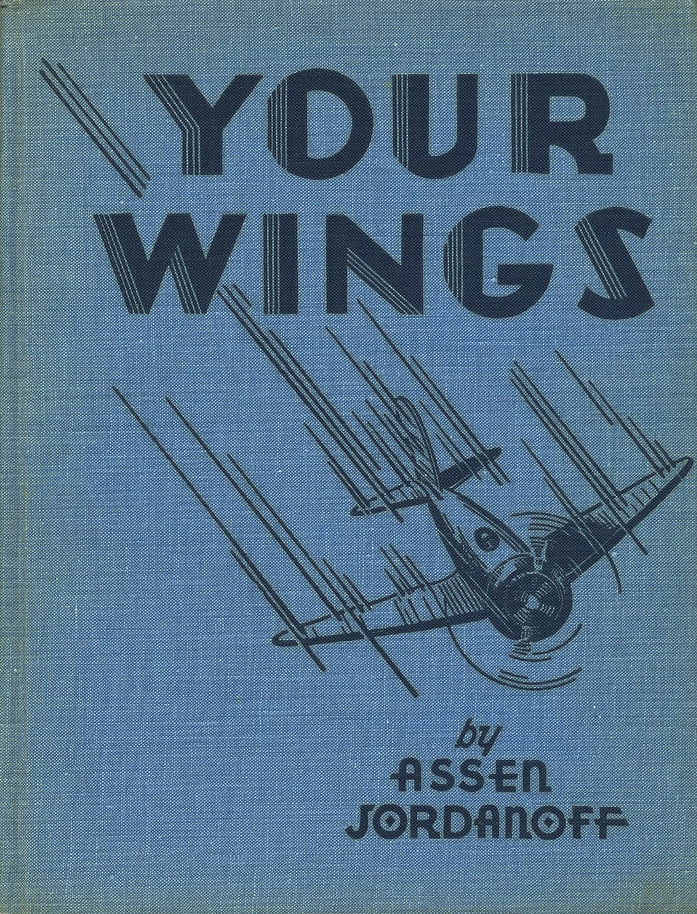 "The boards of ""Your Wings"" also displaying a Frank Carlson illustration."