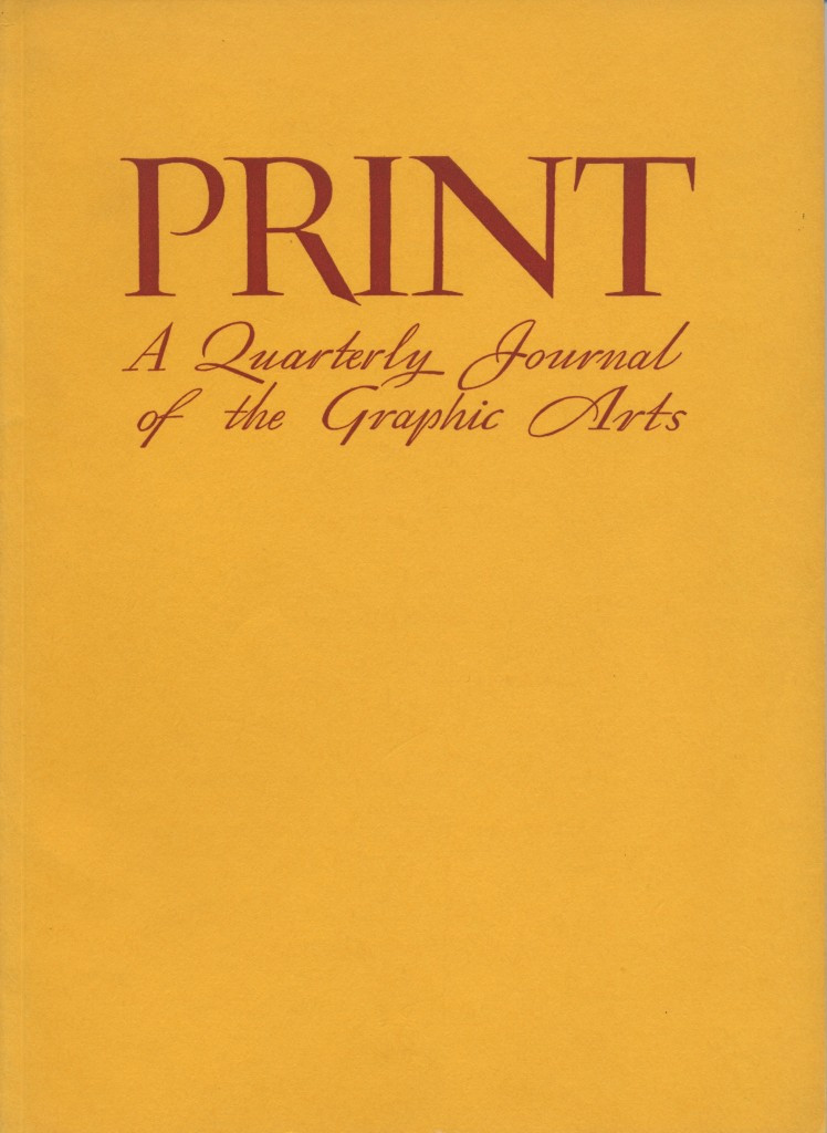 Volume III, Number 3. Cover by Thoreau MacDonald.