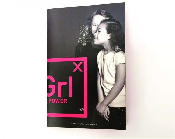 Power of the Purse—Campaign // TBIB Creative LLC, Portland, OR; www.tbibcreative.com: Mathieu Schmutzler (creative director/art director/designer/ photographer/writer), Eric Wimberly (photographer); Girls Inc. of the Pacific Northwest (client)