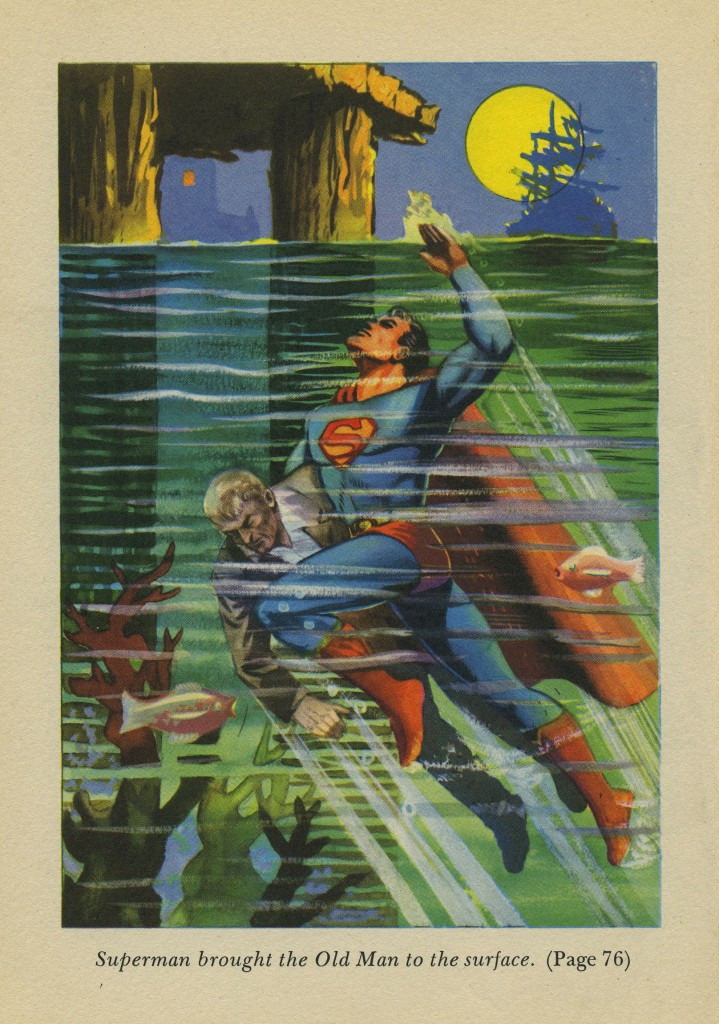 The Adventures of Superman swimming
