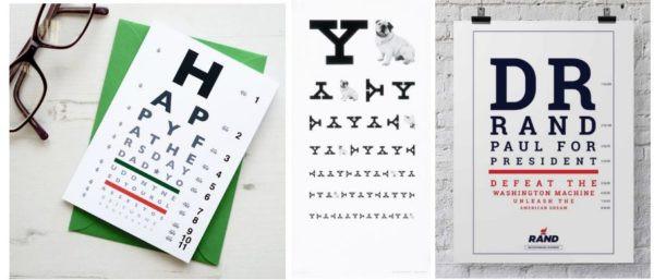 eye chart 5