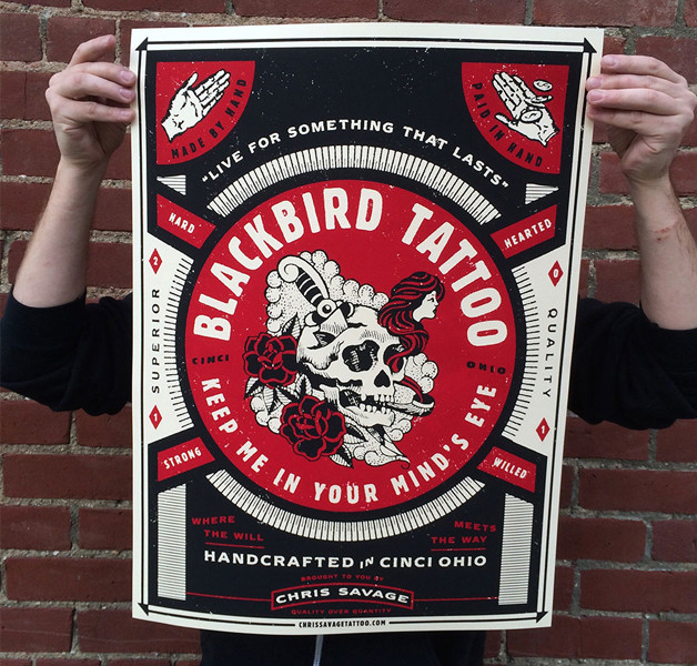 DBCO_BlackbirdTattoo_Poster-design