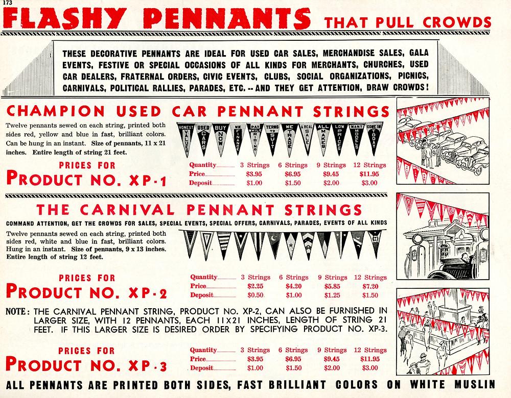 Flashy Pennants