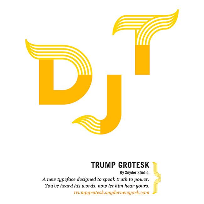 Trump Grotesk