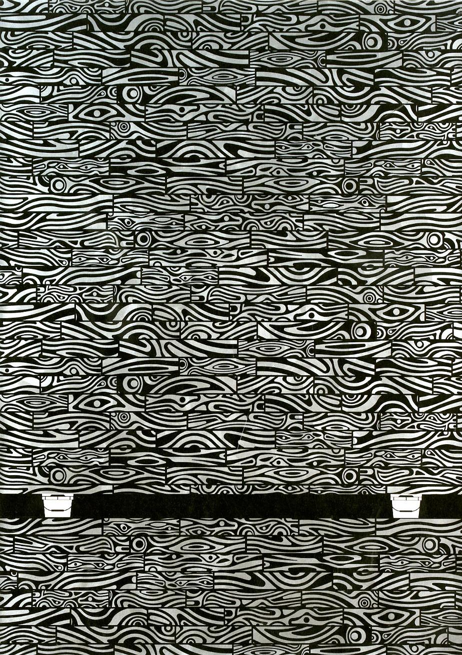Evidence, 2017, acrylic on linen, 84 x 60 in.