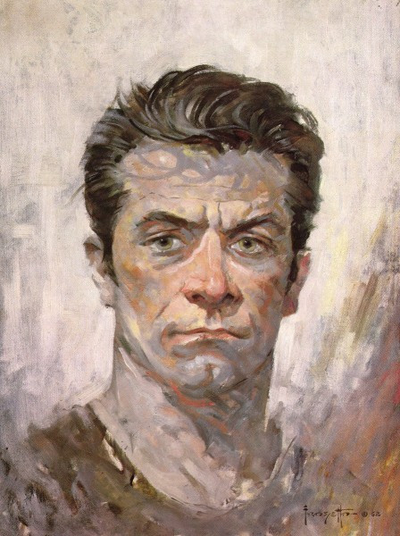 Frank Frazetta self portrait.