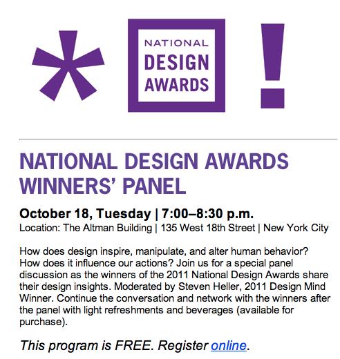 National Design Awards Panel