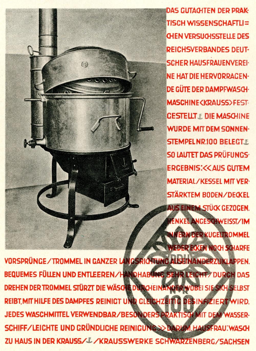 german ad - typo-modernism