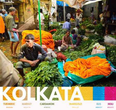 Kolkata color themes