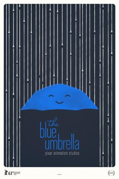 The Blue Umbrella Poster Series Heart