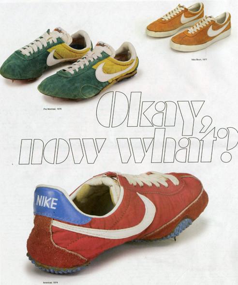 Nike Shoe Stripe