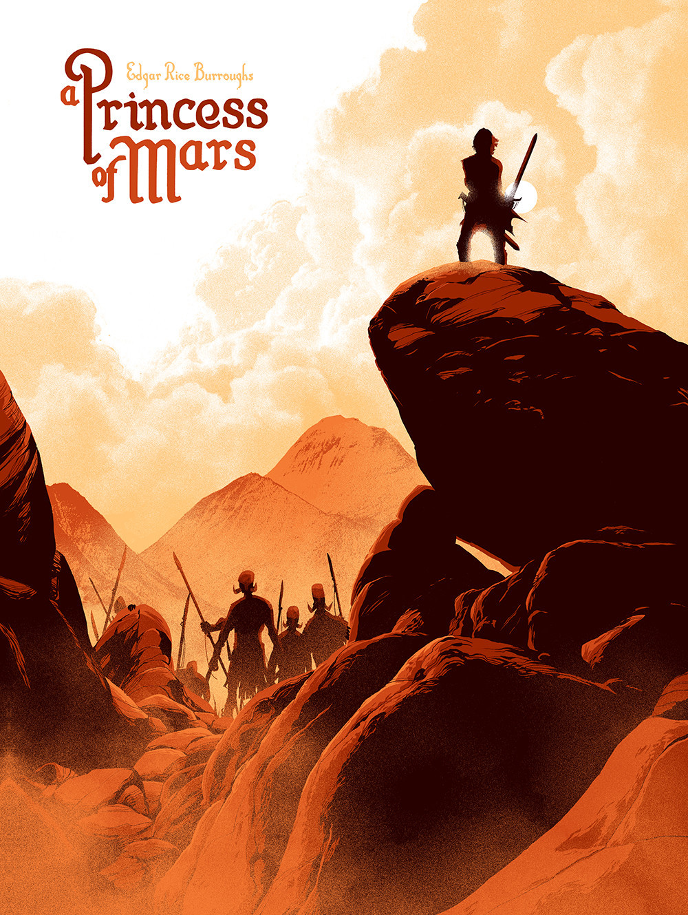 'A Princess of Mars' by Matt Taylor for Black Dragon Press