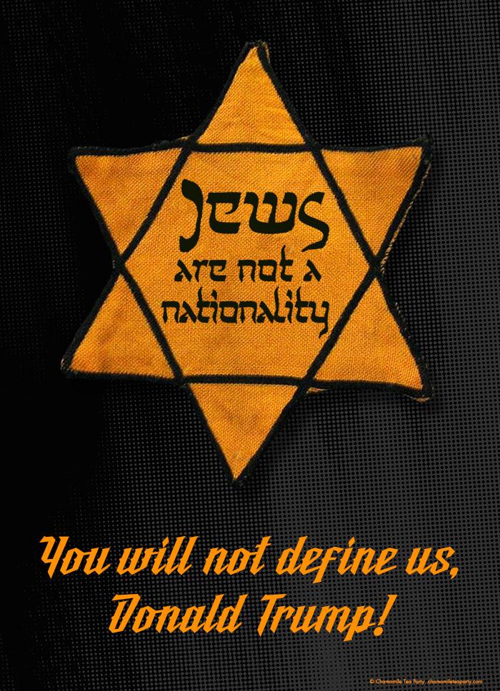Jeffgates jews not nationality Poster