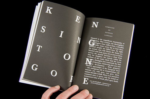 """The piece """"Kensington Gore"""" provides a humorous, if morbid, riff on dying. As the introduction explains, """"Every sentence describes a death."""""""