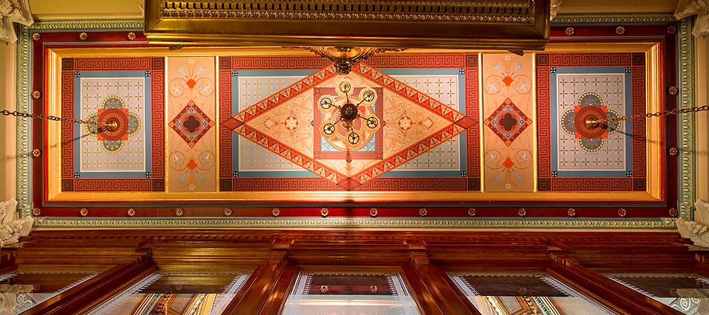 Weylin (former Williamsburgh Savings Bank) ceiling restoration