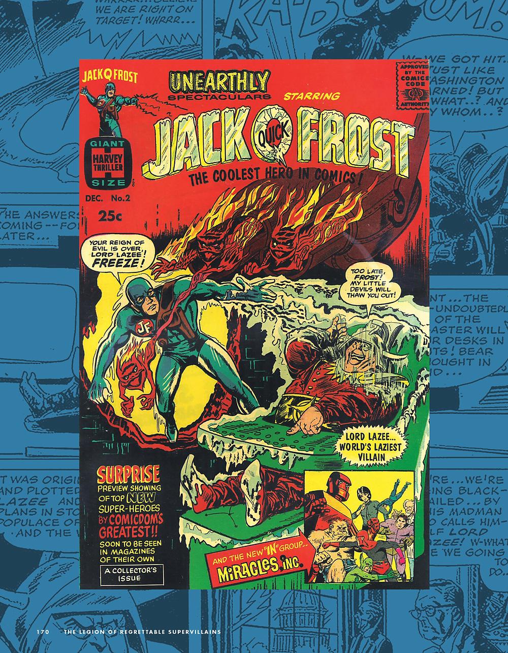 Comic Book History jack q frost