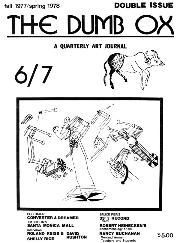 """""""The Dumb Ox""""(James Hugunin and Theron Kelley)"""