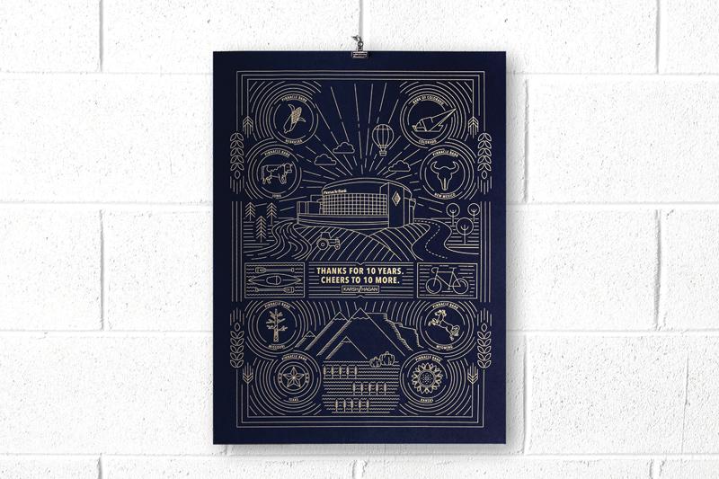 creative poster design; HOW Promotion & Marketing Design Awards winner