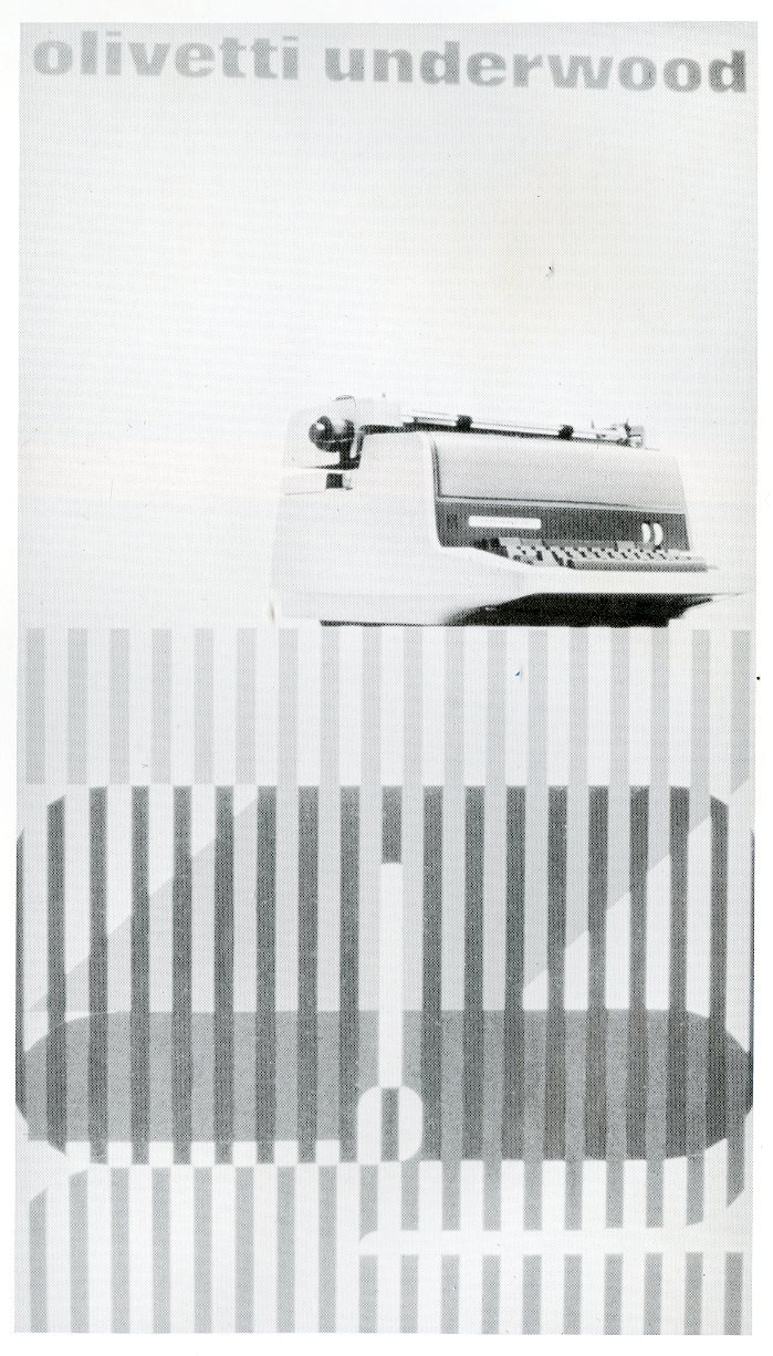 Olivetti underwood type machine