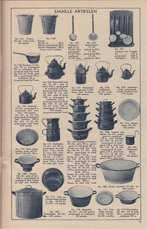 G.J. Peddemors - emaille products