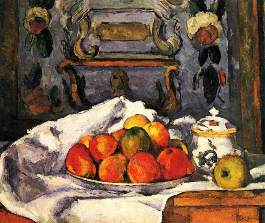 Still Life, Bowl with Apples, Paul Cezanne