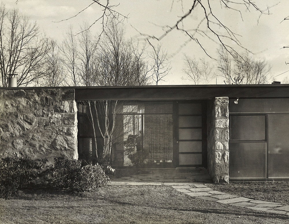Paul and Marion Rand's quintessential mid-century modern home