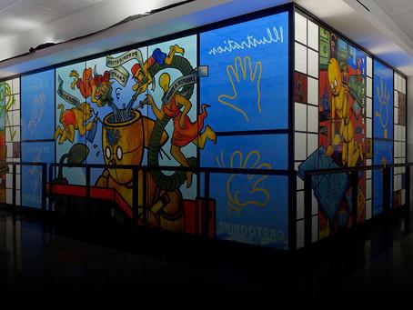 Art Spiegelman's Comix Window