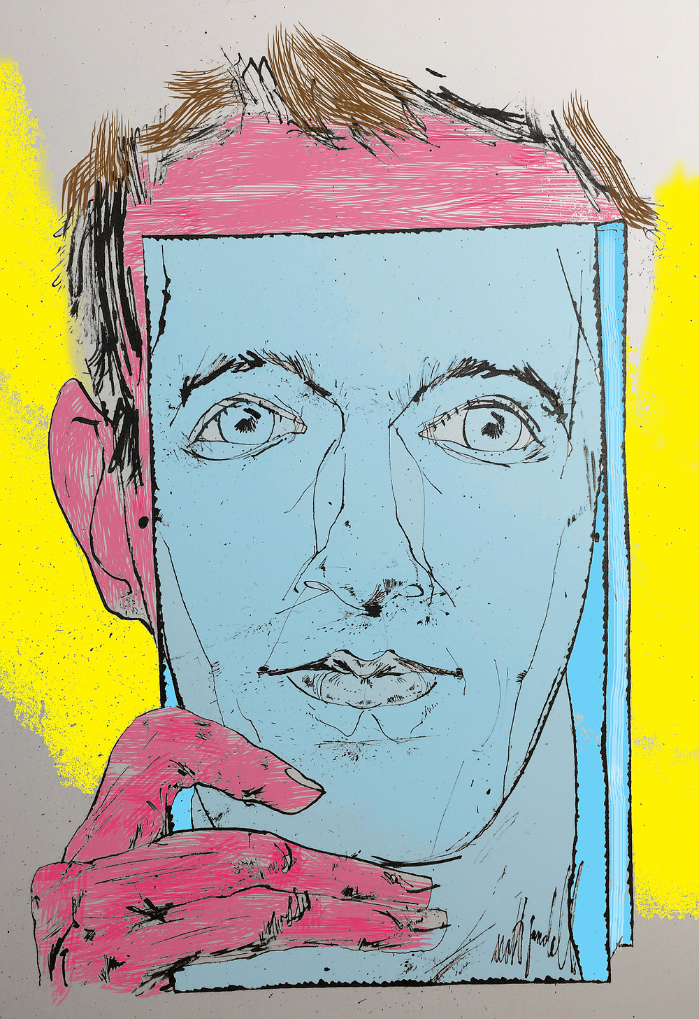 Scott Gandell: Bookface.