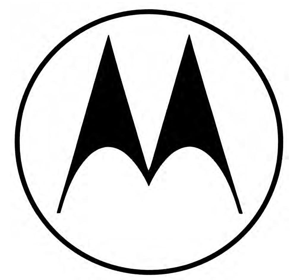 Goldsholl Design Associates, trademark for Motorola, 1955.