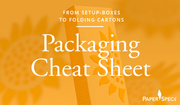 packaging cheat sheet - HOW