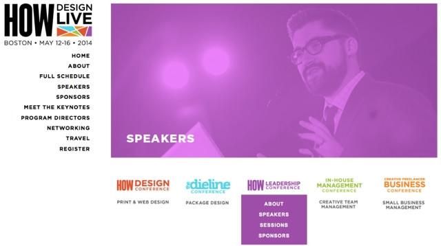 The Dieline's Andrew Gibbs on Designing the HOW Design Live identity