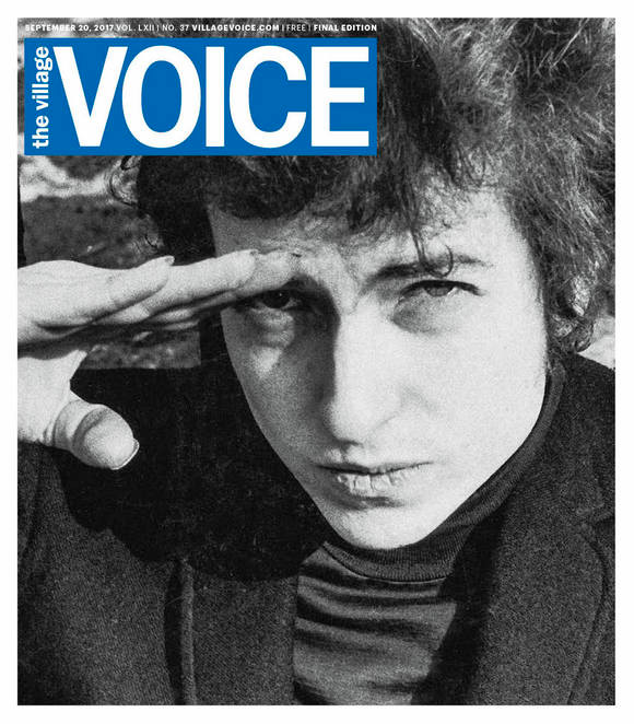 The Village Voice cover
