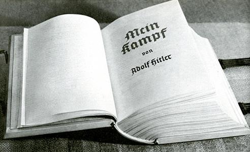 Adolf Hitler, Mein Kampf parchment