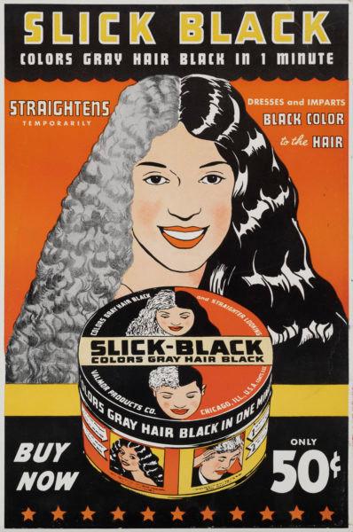 Charles Dawson  Advertisement for Slick Black